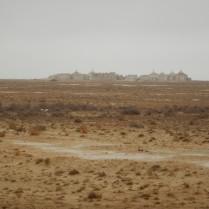 Walled desert cemetery, 3 Nov 14