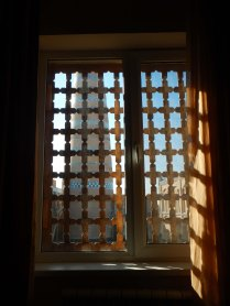 Hotel window view, Khiva, 9 Nov 14