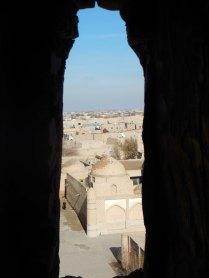 Climbing Juma minaret, 9 Nov 14