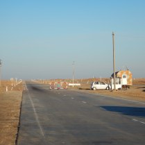 A desert checkpoint, 12 Nov 14