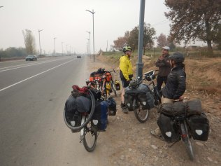 Meeting our first tourers in months, 20 Nov 14