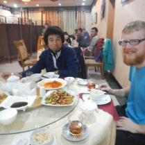 Laurence and Jimbo, Dushanbe, 21 Nov 14