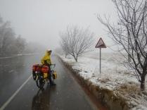 Laurence on a tough climb towards Khirmanjo, 30 Nov 14