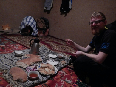 Pamir hospitality in Khirmanjo, 30 Nov 14
