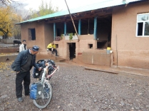 Bike inspection in Khirmanjo, 1 Dec 14