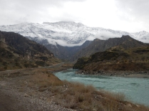 A bend in the Panj river, 1 Dec 14