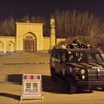 Kashgar's main mosque, 3 Jan 15