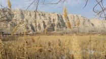 Ke'zier 1000 Buddha Cave, Kuqa, 10 Jan 15