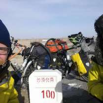 North-South crossing of the Taklamakan, 12 Jan 15