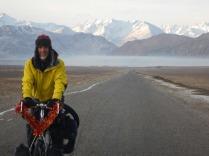 Riding across the plain from Murghab, 23 Dec 14