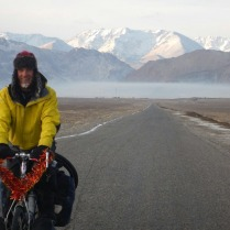 Riding across the plain from Murghab, 23 Dec 14
