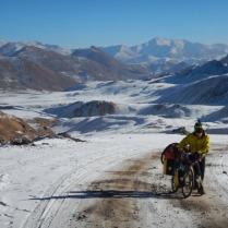 Walking up Ak-baital Pass, 24 Dec 14