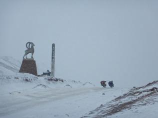 At Kyzyl Art Pass, 25 Dec 14