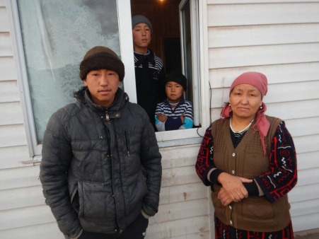Our Kyrgyz family, 29 Dec 14
