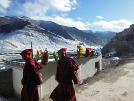 On the Tibetan plateau