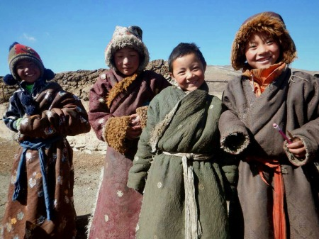On the Tibetan plateau, Feb 2015