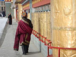 Tibetan prayer wall, 30 Jan 15