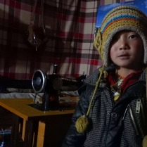 Staying over with this Tibetan family