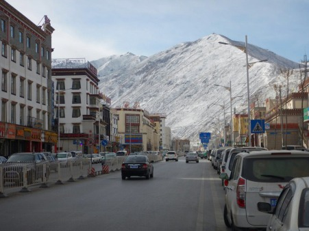 Yushu High Street, 3 Feb 15