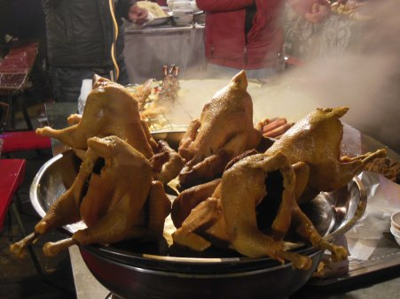 Chicken tonight? Kashgar, 2 Jan 15