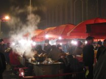Kashgar night market, 2 Jan 15