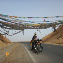 Climbing up to 3200m from Xining