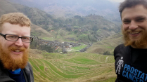 Longji terraces, 9 March 15