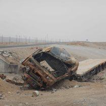 A truck which didn't make it, 5 Jan 15