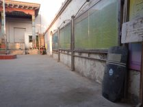 Riot shield in the mosque, Kuqa, 10 Jan 15