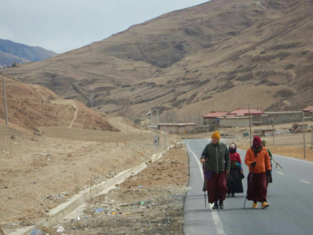 A long walk to Lhasa