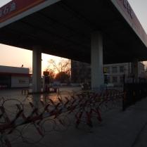 Standard petrol station