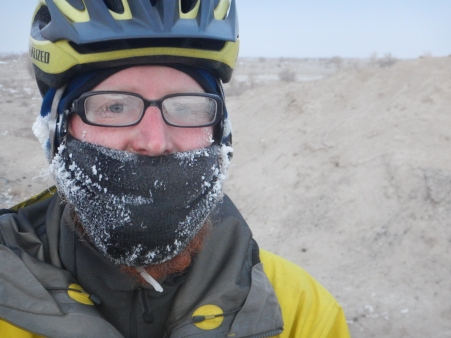 A cold start to the Taklamakan, 12 Jan 15