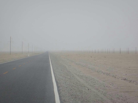 In the Taklamakan desert, Jan 2015