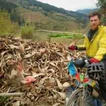 By an abattoir in Guizhou province, March 2015