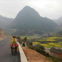 In Guizhou province, March 2015