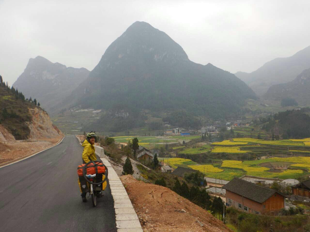 In Guizhou province, March 2015