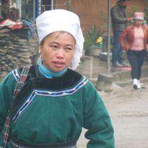 Shui woman, Guizhou province, March 2015
