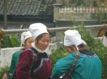 Shui women, Guizhou province, March 2015
