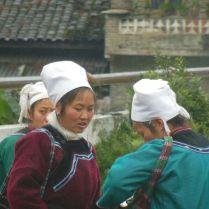 Shui women, Guizhou province, March 2015