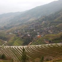 Red Yao village, Guizhou province, March 2015