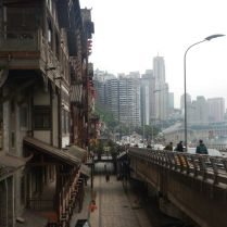 Old and new in Chongqing, Feb 2015
