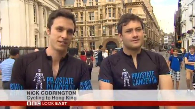 20140708 BBC Look East 02a - Nick & Will