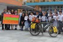 Lam Woo School welcome, 1 April 2015