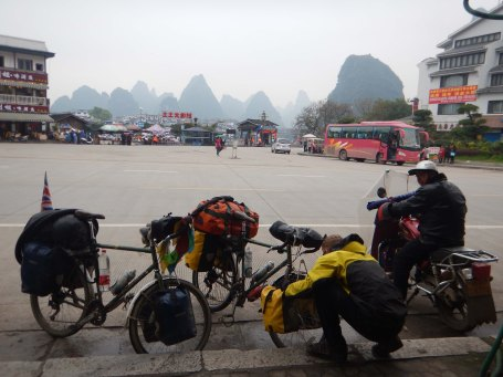 Setting out from Yangshuo