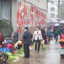 Market scene in Hunan, 15 Mar 15