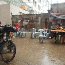Typical Guandong roadside breakfast, 20 Mar 15