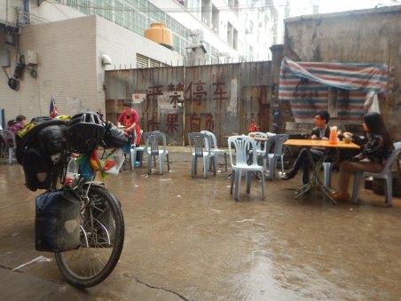Typical Guandong roadside breakfast