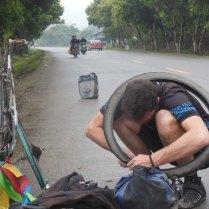 Tyre blowouts, 18 Mar 15