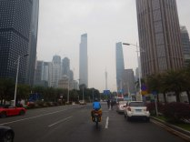 Getting into Guangzhou, China's biggest city, 23 Mar 15