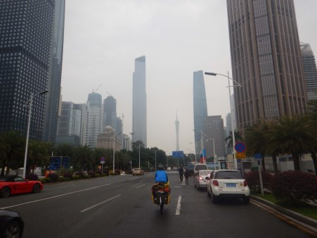 Getting into Guangzhou, China's biggest city